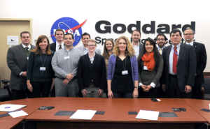 The Arizona congressional delegation visited Goddard Space Flight Center to learn about the many partnerships important to our state