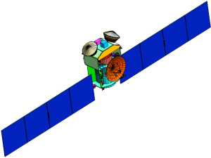 OSIRIS spacecraft design circa 2004. In those days we were foolish enough to think we could sample two asteroids in one mission.