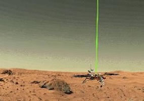 The CSA-provided MET instrument measured particles in the Martian atmosphere on board the Phoenix lander.