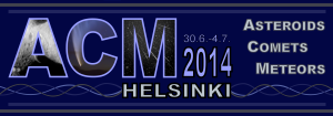 Helsinki was a great host city for the 12th Asteroids, Comets, and Meteors conference.