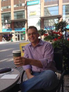 Finland has the highest per capita consumption of coffee anywhere in the world. I took advantage of the great weather to enjoy a cup at a sidewalk cafe.