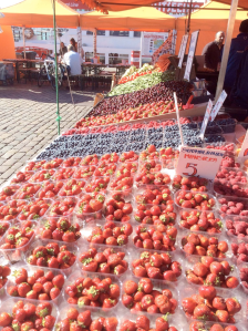 Finland is famous for their berries, which were delicious!