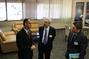 I was honored to welcome Dr. Saku Tsuneta to the UA.