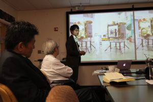 Hayabusa-2 Mission Sample Scientist Shogo Tachibana gave us an overview of the mission.