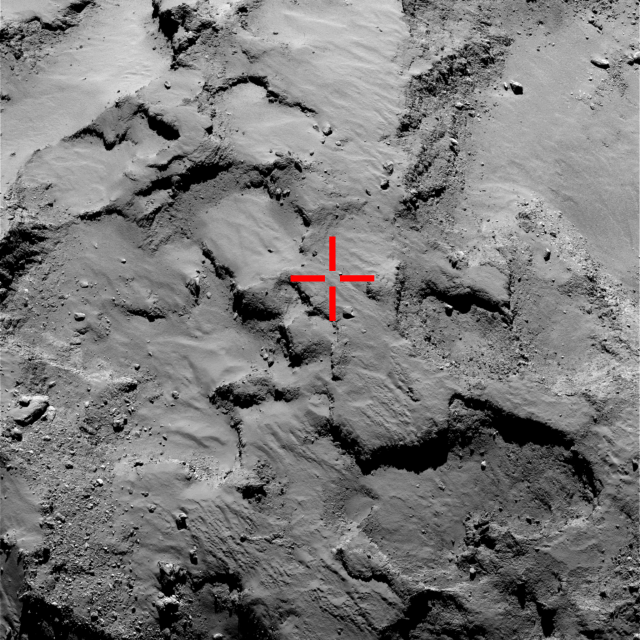 "The first Philae landing site looks like an excellent place for science operations. It is too bad they didn't ""stick"" around."