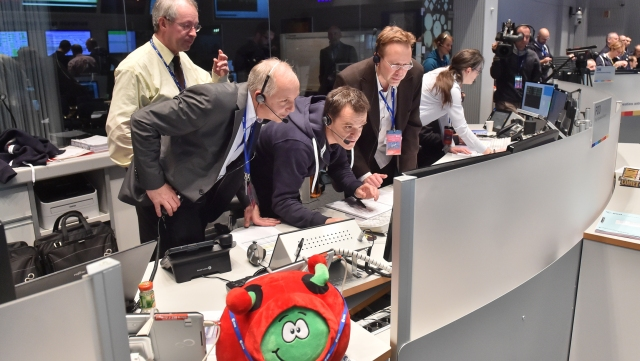 The successful Philae landing made planetary exploration history.