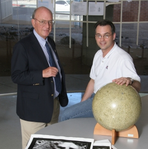 Mike and I in 2008 - at the dawn of the OSIRIS-REx New Frontiers effort.