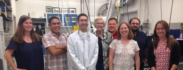 The Astrobiology Analytical Laboratory: Hannah McLain, José Aponte, Mike Callahan, Millie Martin, Danny Glavin, Jamie Elsila, Jason Dworkin, and Christina Nevin (summer student).