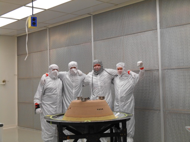 A dedicated team at Lockheed Martin continues to make great progress in building the SRC.