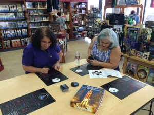The Xtronaut game was recently demonstrated at the Isle of Games store in Tucson.
