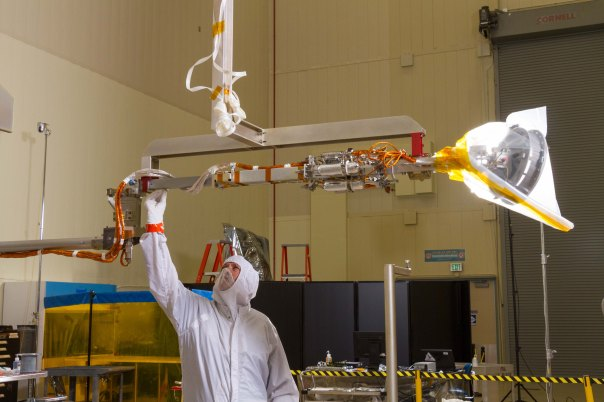PI BLOG:  OSIRIS-REX SPACECRAFT ASSEMBLY NEARLY COMPLETE