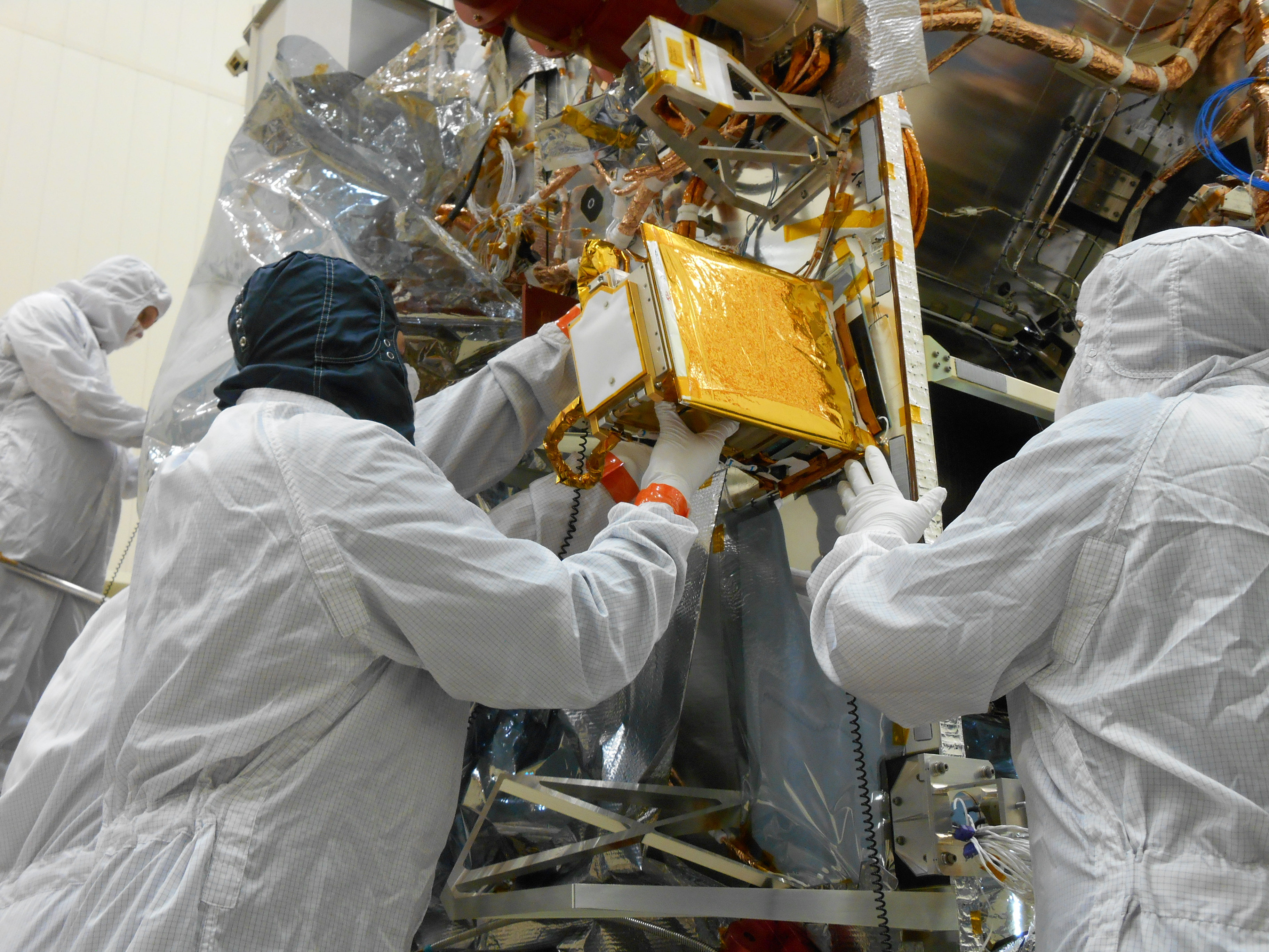 """REXIS was repaired and certified to """"do-no-harm"""" to the spacecraft."""