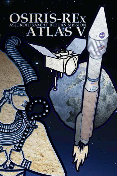 Atlas V OREx logo