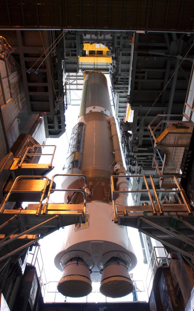 OSIRIS-REx, Atlas V Solid Rocket Booster (SRB) Launch Vehicle On