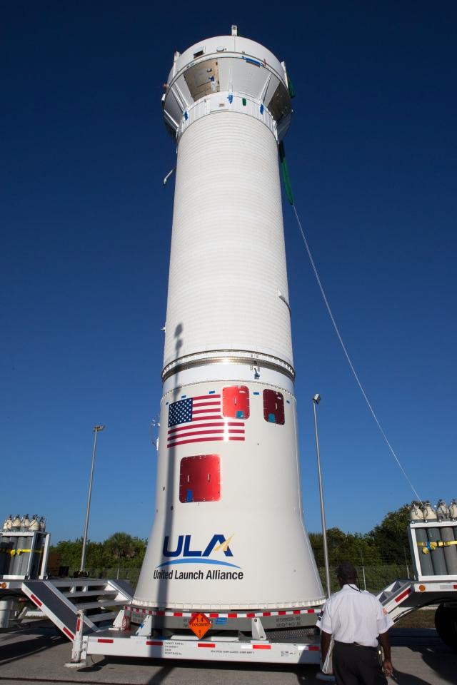 OSIRIS-REx, Atlas V Centaur Stage Arrival and Lift & Mate